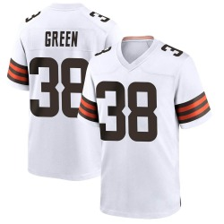 A.J. Green Cleveland Browns Men's Game Nike Jersey - White