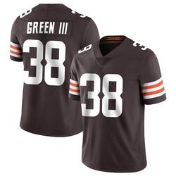 A.J. Green Cleveland Browns Men's Limited Team Color Vapor Untouchable Nike Jersey - Brown
