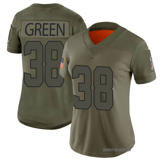 A.J. Green Cleveland Browns Women's Limited 2019 Salute to Service ...
