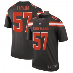 Adarius Taylor Cleveland Browns Men's Legend Nike Jersey - Brown
