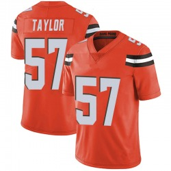 Adarius Taylor Cleveland Browns Men's Limited Alternate Vapor Untouchable Nike Jersey - Orange