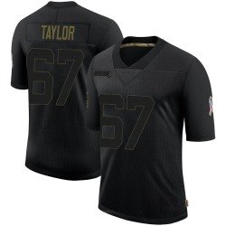 Alex Taylor Cleveland Browns Men's Limited 2020 Salute To Service Nike Jersey - Black