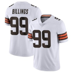 Andrew Billings Cleveland Browns Youth Limited Vapor Untouchable Nike Jersey - White