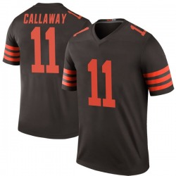 Antonio Callaway Cleveland Browns Men's Color Rush Legend Nike Jersey - Brown