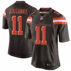 Antonio Callaway Cleveland Browns Men's Game Team Color Nike Jersey - Brown