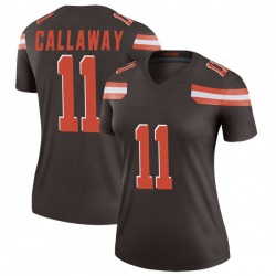 Antonio Callaway Cleveland Browns Women's Legend Nike Jersey - Brown