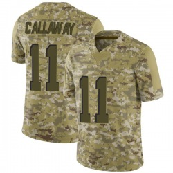 Antonio Callaway Cleveland Browns Youth Limited 2018 Salute to Service Nike Jersey - Camo
