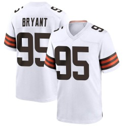 Armonty Bryant Cleveland Browns Men's Game Nike Jersey - White