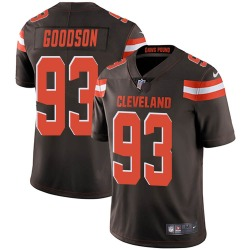 B.J. Goodson Cleveland Browns Men's Limited Team Color Vapor Untouchable Nike Jersey - Brown