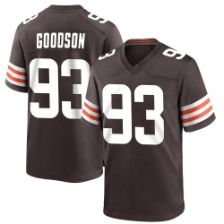 B.J. Goodson Cleveland Browns Youth Game Team Color Nike Jersey - Brown