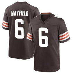 Baker Mayfield Cleveland Browns Men's Game Team Color Nike Jersey - Brown