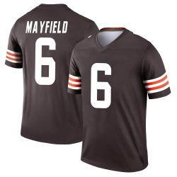 Baker Mayfield Cleveland Browns Men's Legend Nike Jersey - Brown