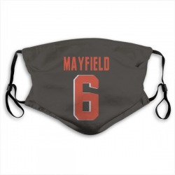 Baker Mayfield Cleveland Browns Reusable & Washable Face Mask