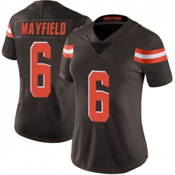 Baker Mayfield Cleveland Browns Women's Limited Team Color Vapor Untouchable Nike Jersey - Brown