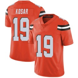 Bernie Kosar Cleveland Browns Men's Limited Alternate Vapor Untouchable Nike Jersey - Orange