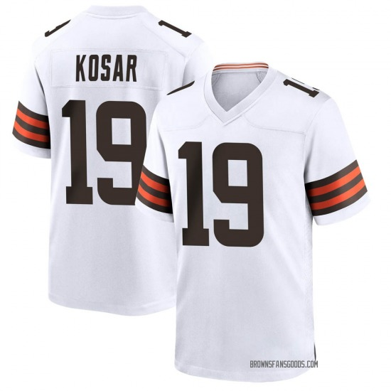 Bernie Kosar Cleveland Browns Youth Game Jersey - White
