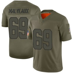 Cameron Malveaux Cleveland Browns Youth Limited 2019 Salute to Service Nike Jersey - Camo
