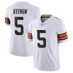 Case Keenum Cleveland Browns Men's Limited Vapor Untouchable Nike Jersey - White