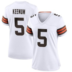 Case Keenum Cleveland Browns Women's Game Nike Jersey - White