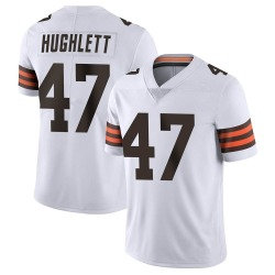 Charley Hughlett Cleveland Browns Men's Limited Vapor Untouchable Nike Jersey - White