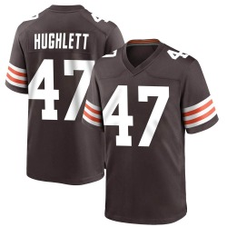 Charley Hughlett Cleveland Browns Youth Game Team Color Nike Jersey - Brown