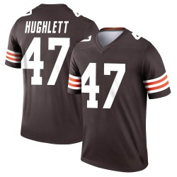 Charley Hughlett Cleveland Browns Youth Legend Nike Jersey - Brown
