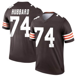 Chris Hubbard Cleveland Browns Men's Legend Jersey - Brown