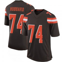 Chris Hubbard Cleveland Browns Men's Limited 100th Vapor Jersey - Brown