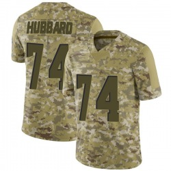 Chris Hubbard Cleveland Browns Men's Limited 2018 Salute to Service Jersey - Camo