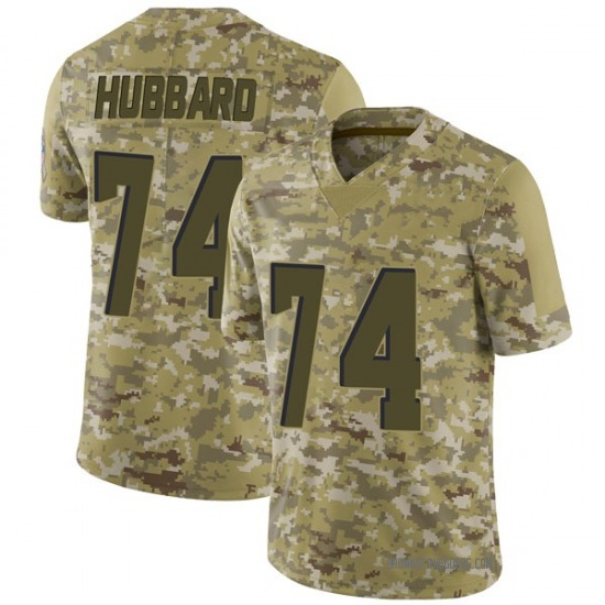 Chris Hubbard Cleveland Browns Men's Limited 2018 Salute to Service Nike Jersey - Camo