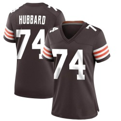 Chris Hubbard Cleveland Browns Women's Game Team Color Nike Jersey - Brown