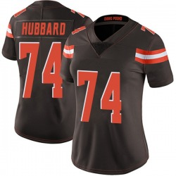 Chris Hubbard Cleveland Browns Women's Limited Team Color Vapor Untouchable Nike Jersey - Brown