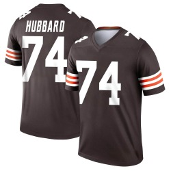 Chris Hubbard Cleveland Browns Youth Legend Nike Jersey - Brown