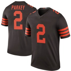 Cody Parkey Cleveland Browns Men's Color Rush Legend Nike Jersey - Brown