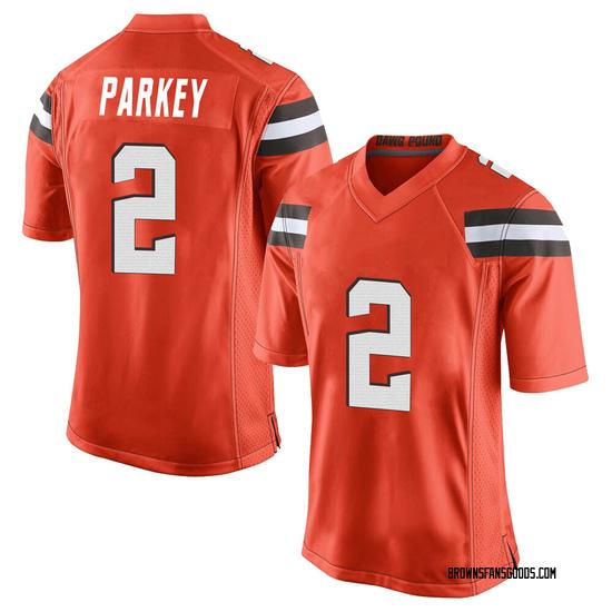 Cody Parkey Cleveland Browns Men's Game Alternate Jersey - Orange