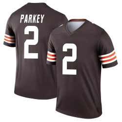 Cody Parkey Cleveland Browns Men's Legend Nike Jersey - Brown