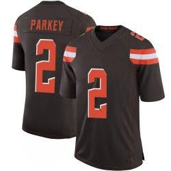 Cody Parkey Cleveland Browns Men's Limited 100th Vapor Nike Jersey - Brown