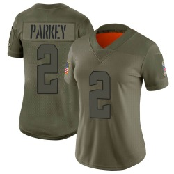 Cody Parkey Cleveland Browns Women's Limited 2019 Salute to Service Nike Jersey - Camo