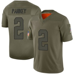 Cody Parkey Cleveland Browns Youth Limited 2019 Salute to Service Nike Jersey - Camo