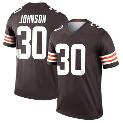 D'Ernest Johnson Cleveland Browns Men's Legend Nike Jersey - Brown