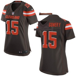 D.J. Montgomery Cleveland Browns Women's Game Team Color Nike Jersey - Brown