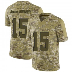 Damon Sheehy-Guiseppi Cleveland Browns Youth Limited 2018 Salute to Service Nike Jersey - Camo