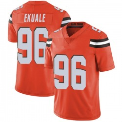 Daniel Ekuale Cleveland Browns Youth Limited Alternate Vapor Untouchable Nike Jersey - Orange