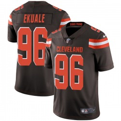 Daniel Ekuale Cleveland Browns Youth Limited Team Color Vapor Untouchable Nike Jersey - Brown