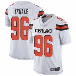 Daniel Ekuale Cleveland Browns Youth Limited Vapor Untouchable Nike Jersey - White