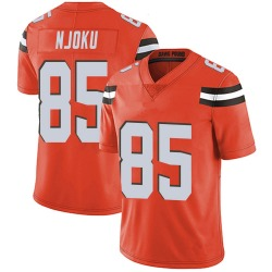 David Njoku Cleveland Browns Men's Limited Alternate Vapor Untouchable Nike Jersey - Orange