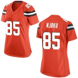 David Njoku Cleveland Browns Women's Game Alternate Nike Jersey - Orange