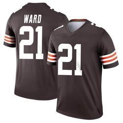 Denzel Ward Cleveland Browns Men's Legend Nike Jersey - Brown