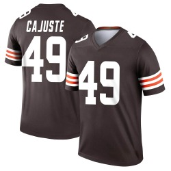 Devon Cajuste Cleveland Browns Men's Legend Nike Jersey - Brown