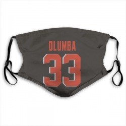 Donovan Olumba Cleveland Browns Reusable & Washable Face Mask